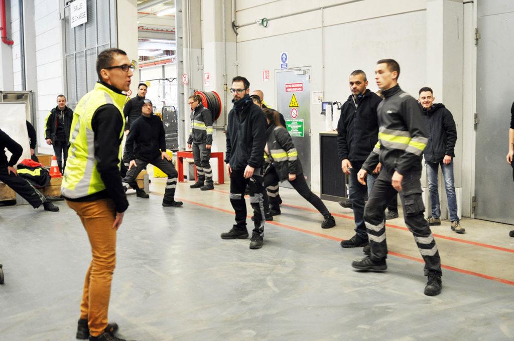Cambrai: Des séances de réveil musculaire pour les 190 salariés de Lidl